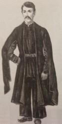 Западноармянский мужской комплекс с верхней одеждой джуппа. Карин, Ахалцих. XIXв.