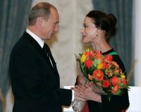 Путин В.В. и Плисецкая М.М.