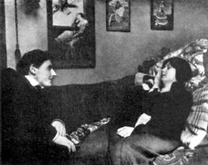 А. Дункан и американский режиссёр Г. Крэг